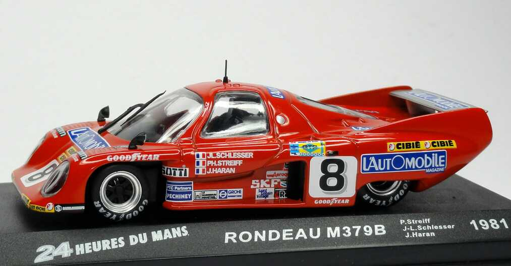 Rondeau m 379 b 24h von le mans 1981 l automobile nr 8 for Garage automobile le mans