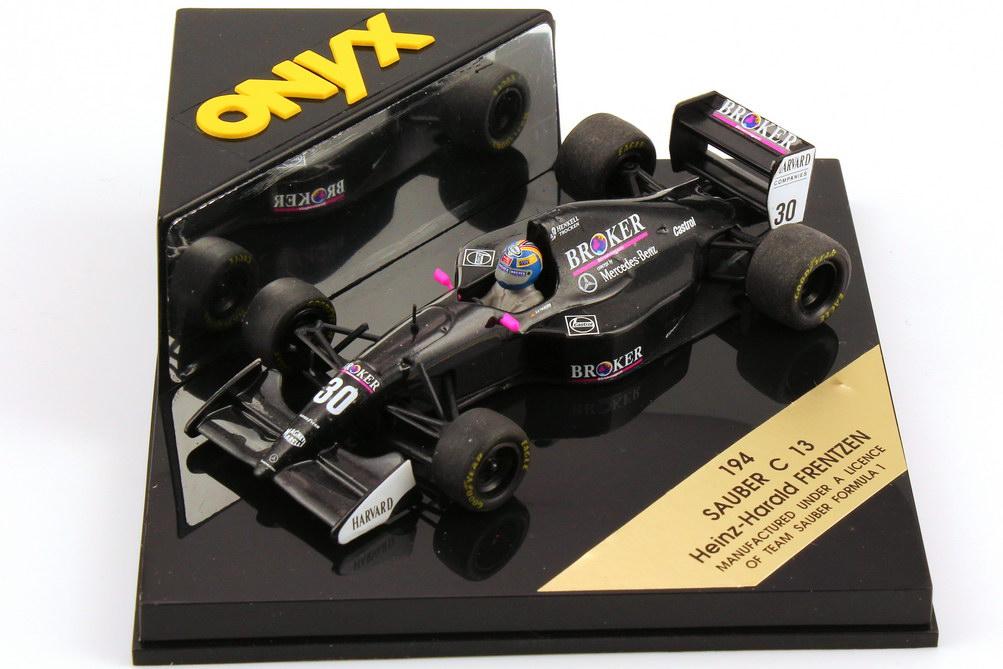 """1:43 Sauber C13 Formel 1 1994 """"Broker"""" Nr.30, Heinz-Harald Frenzen"""