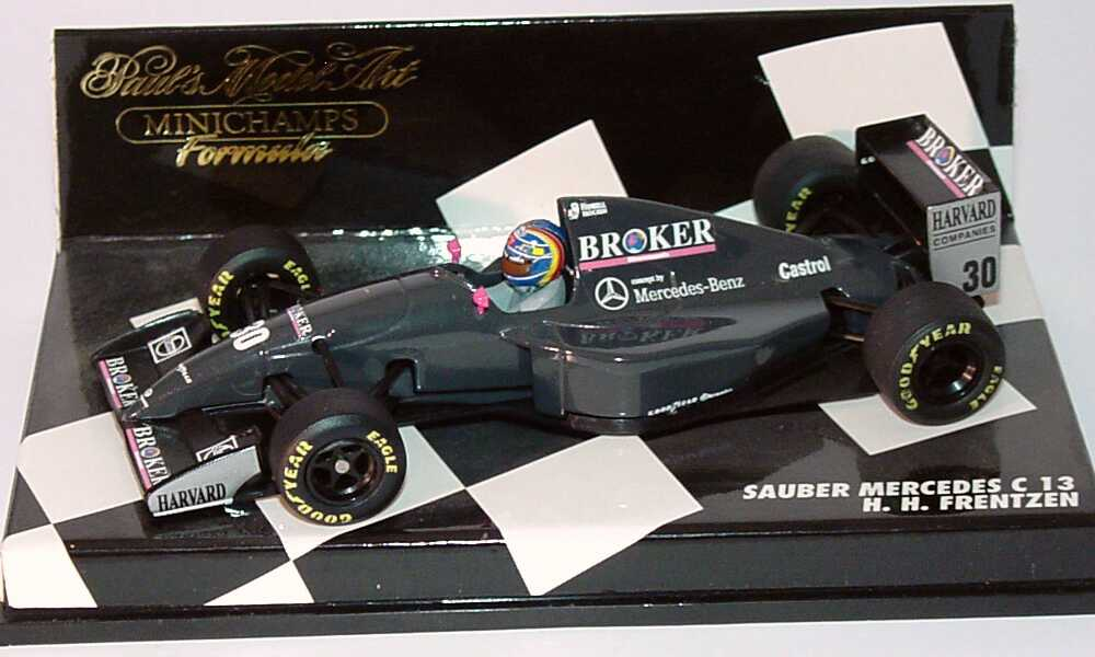 1 43 sauber c13 formel 1 1994 h h frenzen. Black Bedroom Furniture Sets. Home Design Ideas