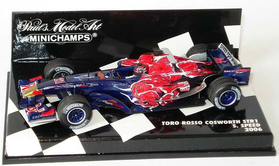 1 43 toro rosso cosworth str1 formel 1 2006 red bull. Black Bedroom Furniture Sets. Home Design Ideas
