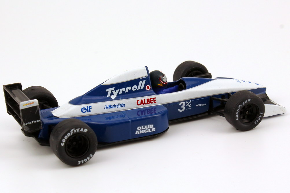 tyrrell 020b formel 1 1992 nr 3 olivier grouillard onyx. Black Bedroom Furniture Sets. Home Design Ideas