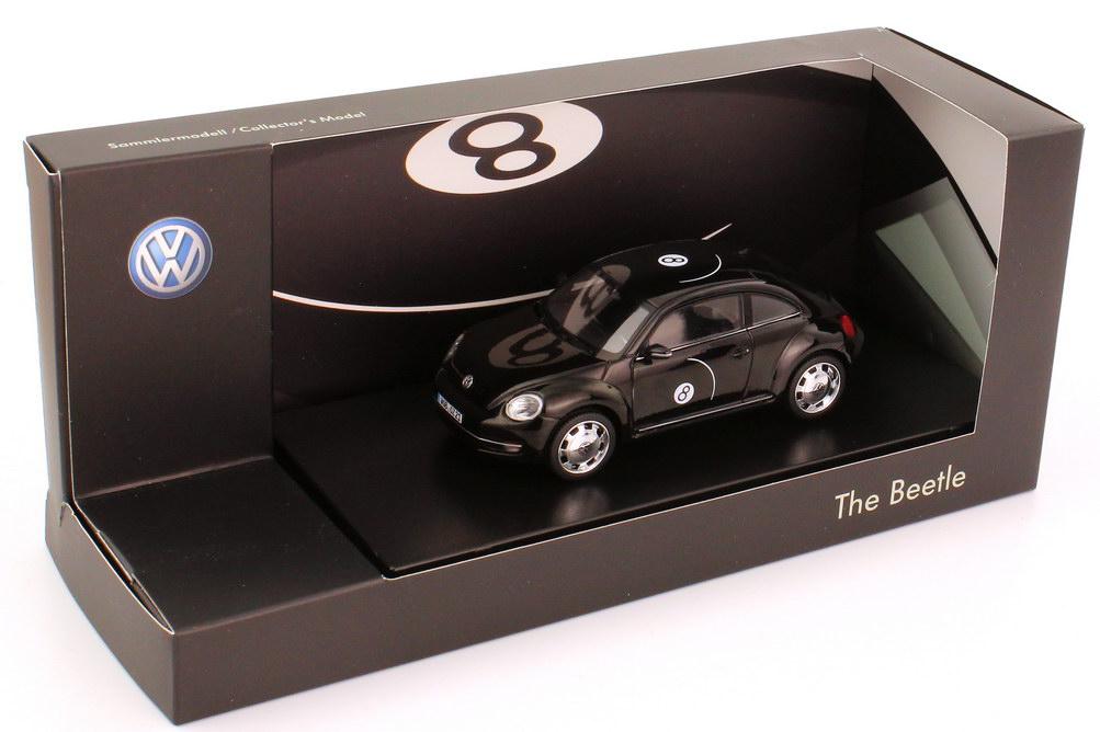 "1:43 VW Beetle (2011) schwarz ""Eight Ball"" (VW)"