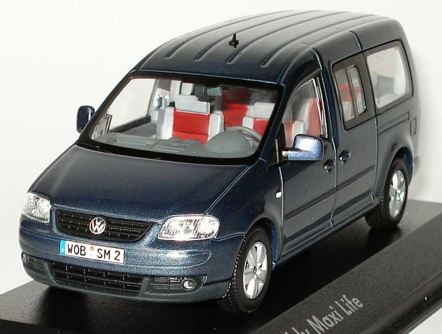 1 43 vw caddy iii maxi life offroad grey grau volkswagen dealer ed minichamps. Black Bedroom Furniture Sets. Home Design Ideas