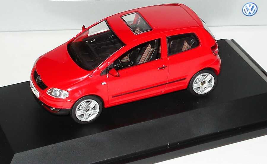 1:43 VW Fox tornadorot (VW)
