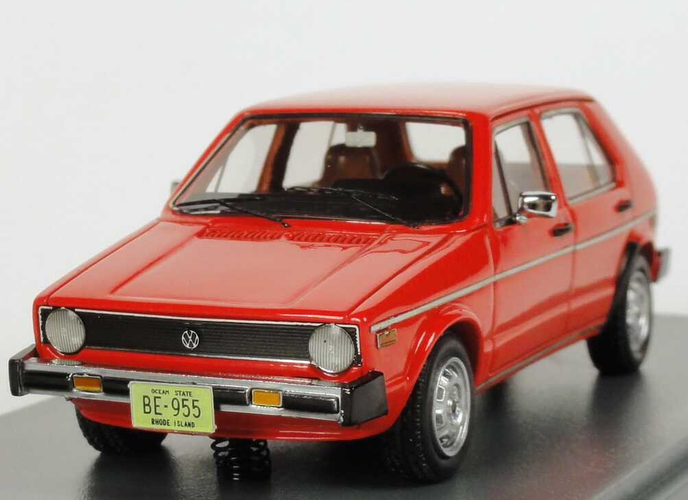 vw golf i volkswagen rabbit 4t rig 1975 rot neo scale models 43955 bild 2. Black Bedroom Furniture Sets. Home Design Ideas