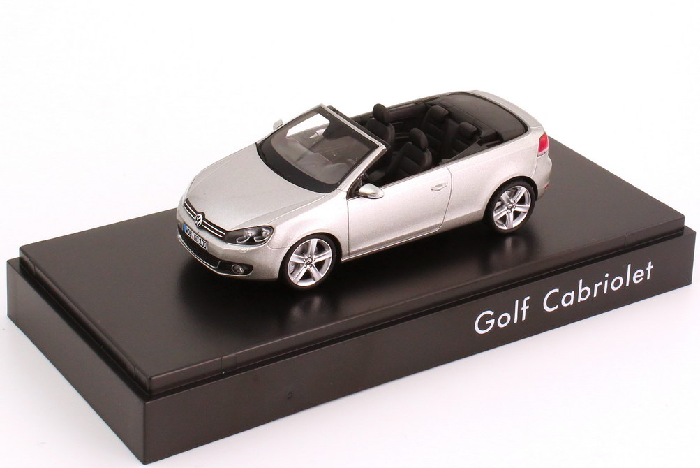 1:43 VW Golf VI Cabrio tungsten-silver-met. (VW)