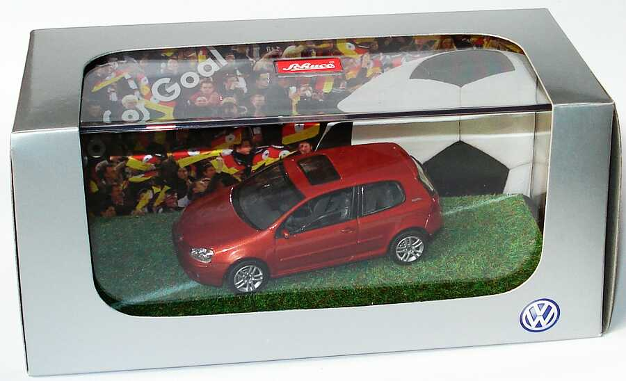 "1:43 VW Golf V 2türig copperorangemet. ""Golf Goal"" (VW)"