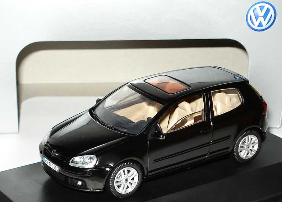 1:43 VW Golf V 2türig schwarz (VW)