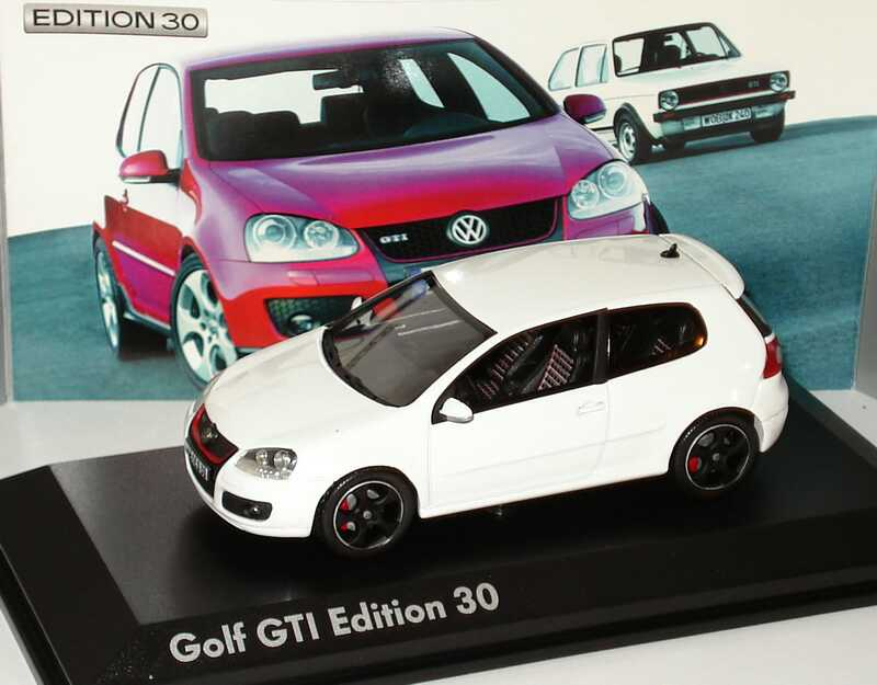 1 43 vw golf v gti edition 30 wei werbemodell norev 1k0099300cb9a. Black Bedroom Furniture Sets. Home Design Ideas