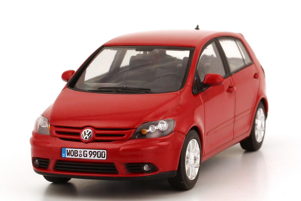 1 43 vw golf v 5 plus sunset red red red volkswagen dealer edition oem ebay. Black Bedroom Furniture Sets. Home Design Ideas