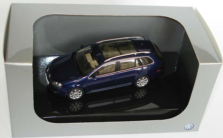 1:43 VW Golf V Variant shadowbluemet. (VW)