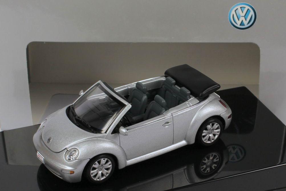 1:43 VW New Beetle Cabrio reflex-silber-met. (VW)