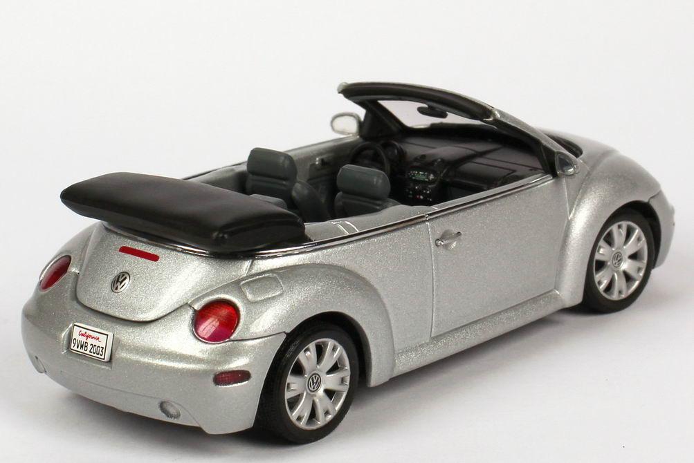 1 43 volkswagen vw new beetle cabrio convertible reflex silber silver dietzenbach. Black Bedroom Furniture Sets. Home Design Ideas