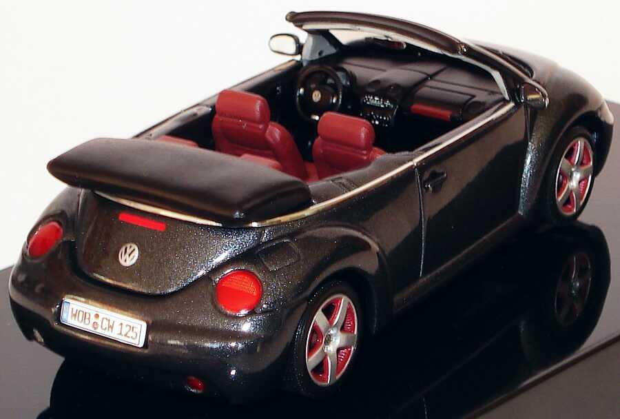 Vw New Beetle Cabrio Schwarz Met Dark Flint Werbemodell