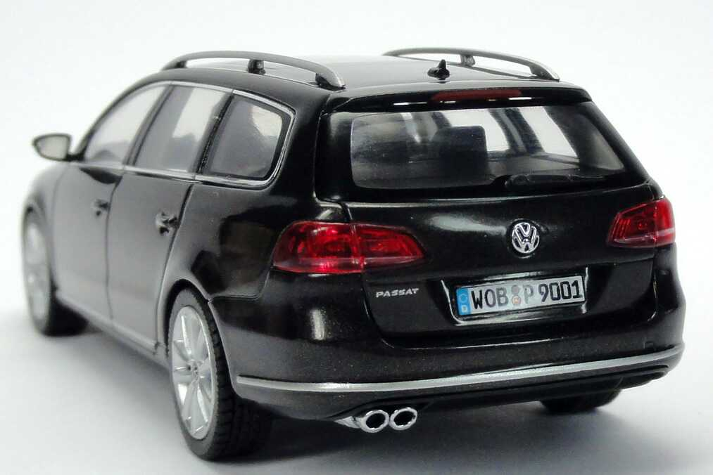 1 43 vw passat variant 2010 b7 mocca anthrazit grau grey. Black Bedroom Furniture Sets. Home Design Ideas