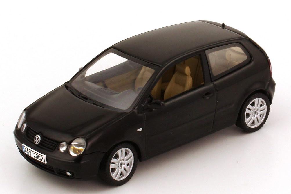 vw polo iv 2002 9n 2t rig schwarz autoart 59762 bild 2. Black Bedroom Furniture Sets. Home Design Ideas