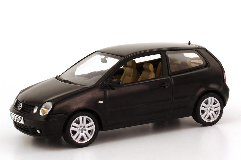 vw polo iv 2002 9n 2t rig schwarz autoart 59762 bild 4. Black Bedroom Furniture Sets. Home Design Ideas