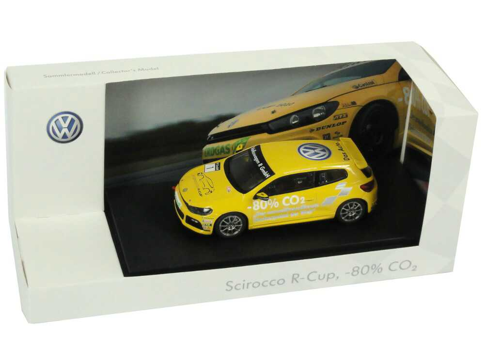 "1:43 VW Scirocco III R-Cup 2010 ""-80% CO2"" Nr.1 (VW)"