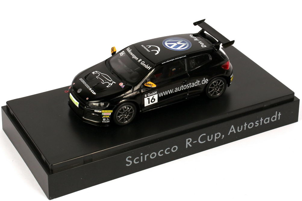 """1:43 VW Scirocco III R-Cup 2011 """"Autostadt"""" Nr.16"""