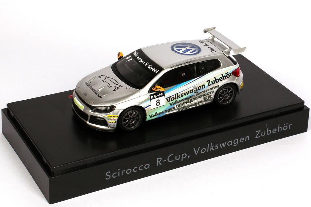 """1:43 VW Scirocco III R-Cup 2011 """"Volkswagen Zubehör"""" Nr.8 (VW)"""