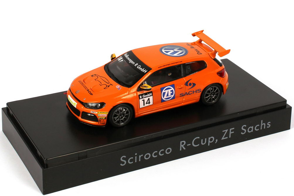 "1:43 VW Scirocco III R-Cup 2011 ""ZF Sachs"" Nr.14"
