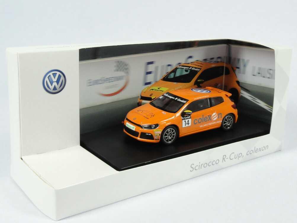 "1:43 VW Scirocco III R-Cup 2010 ""colexon"" Nr.14, Timmy Megenbier (VW)"