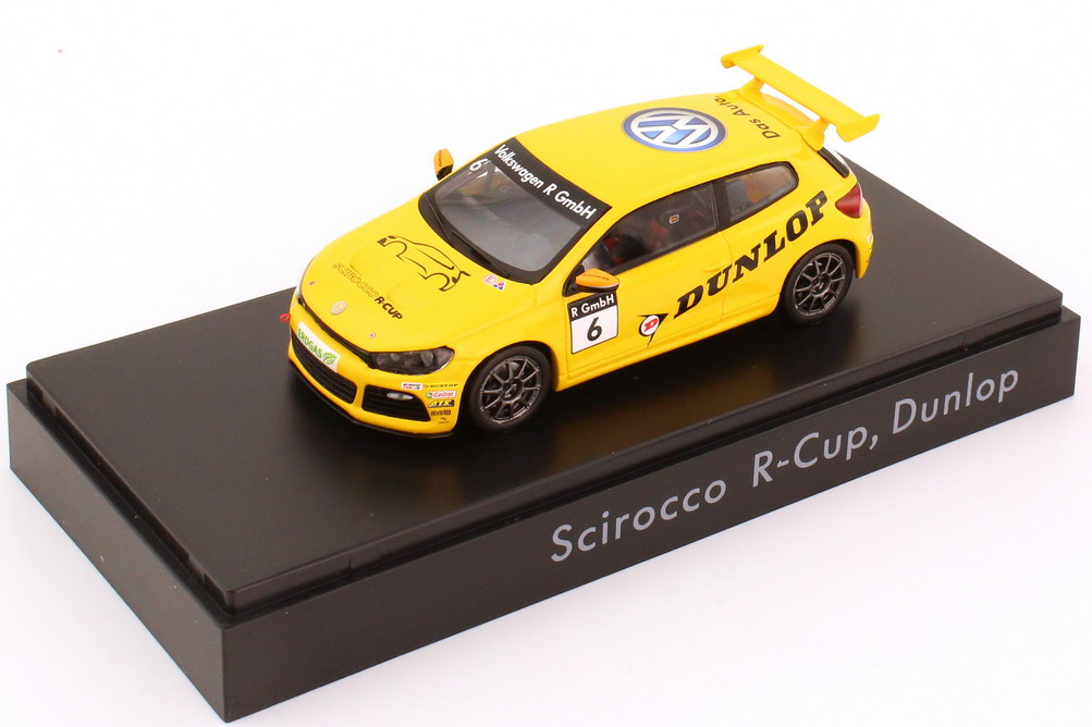 "1:43 VW Scirocco III R-Cup 2012 ""Dunlop"" Nr.6 (VW)"