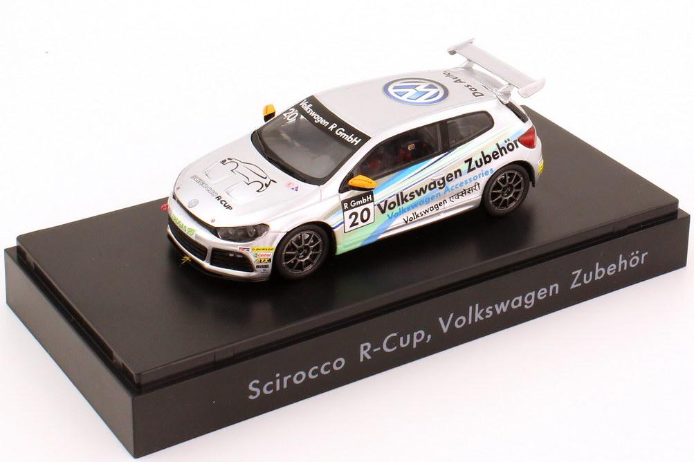 """1:43 VW Scirocco III R-Cup 2012 """"Volkswagen Zubehör"""" Nr.20 (VW)"""