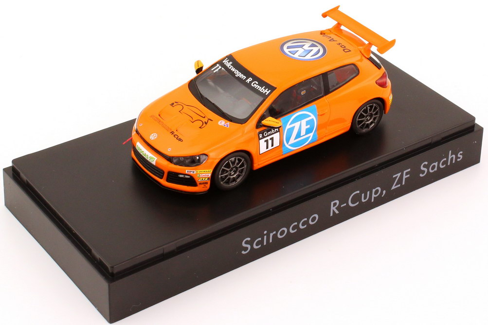"1:43 VW Scirocco III R-Cup 2012 ""ZF Sachs"" Nr.11 (VW)"