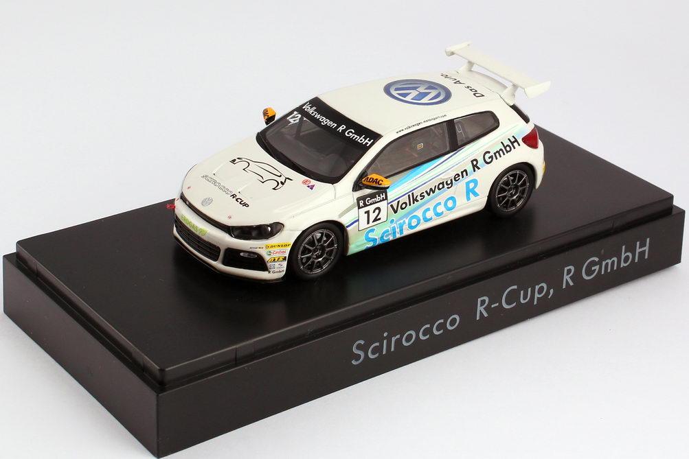 "1:43 VW Scirocco III R-Cup 2011 ""Volkswagen R-GmbH"" Nr.12 (VW)"