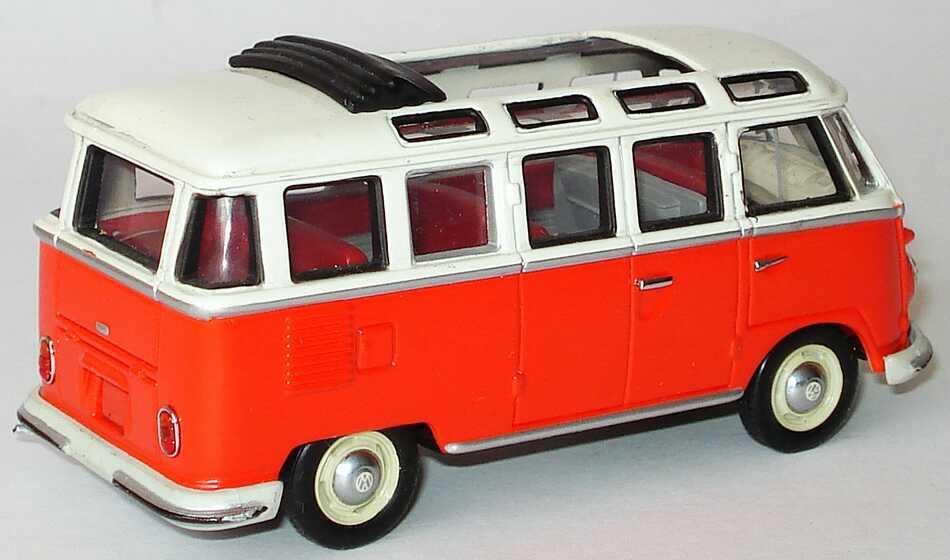 1:43 VW T1 Bus Samba rot/beige