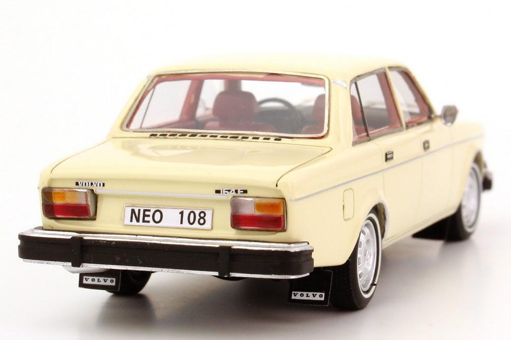 Foto 1:43 Volvo 164 (US Version) 1974 creme-weiß NEO Scale Models 43108