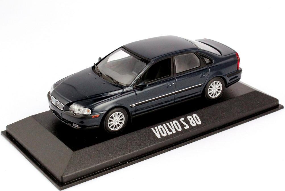 1:43 Volvo S80 dunkel-blau-met. (Volvo) (oU)