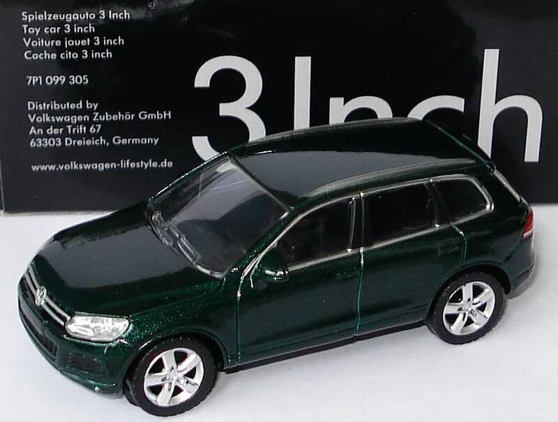 1:57 VW Touareg II 2010 highland-green-met. (VW)