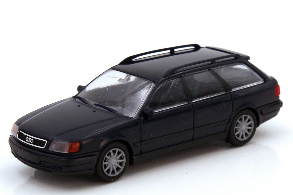 1:87 Audi 100 Avant (C4) dunkelblau (Speichenfelgen)