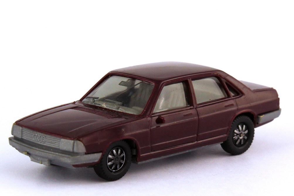 1:87 Audi 100 (C2) GL 5E dunkelviolett (Boden grau) (oV)