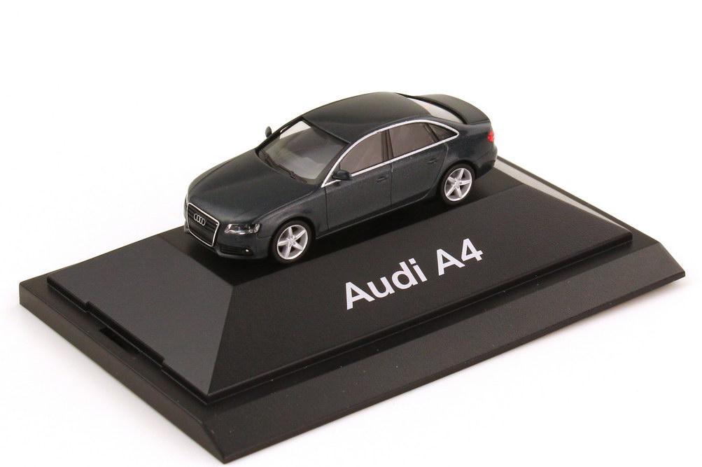 1:87 Audi A4 (B8) meteorgrau-met. (Audi)
