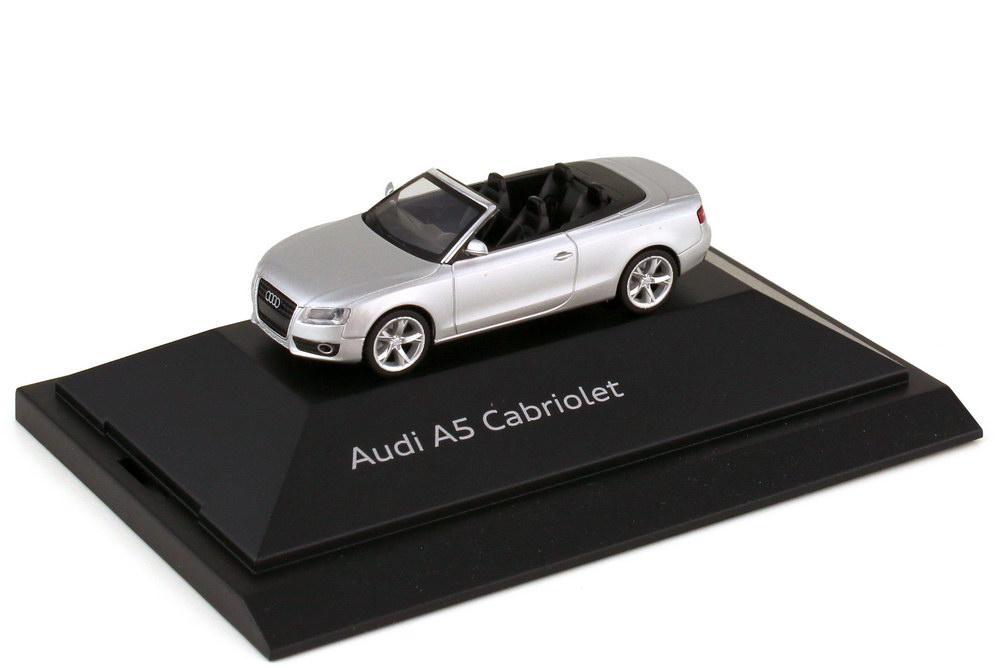 1:87 Audi A5 Cabriolet (8F) eissilber-met. (Audi)