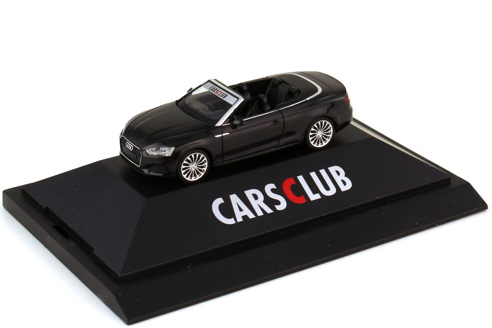 1:87 Audi A5 Cabriolet (F5) schwarz