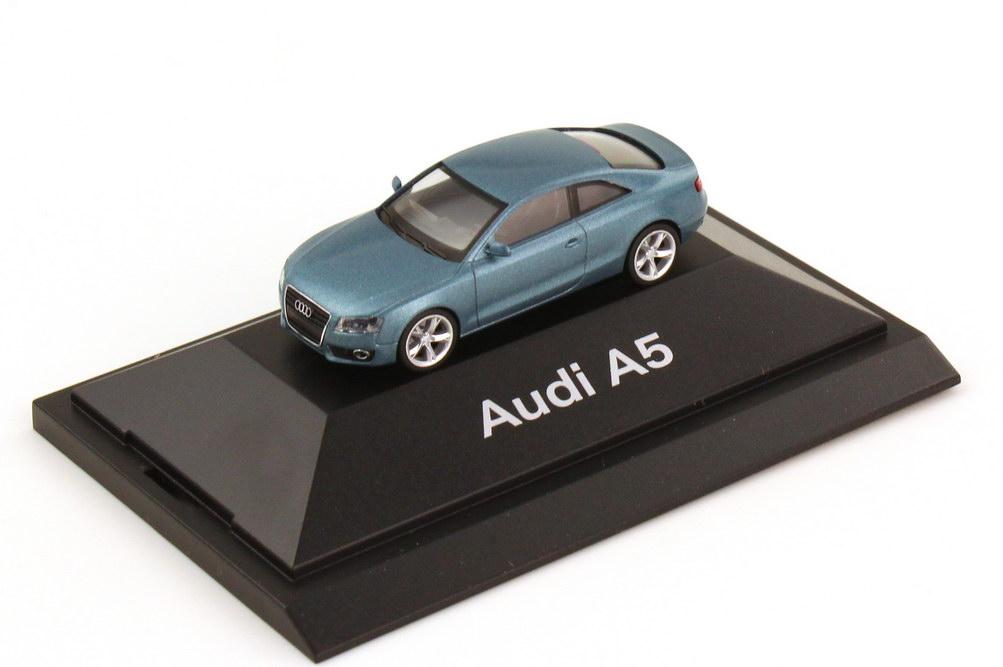 1:87 Audi A5 Coupé (B8) topasblau-met. (Audi)