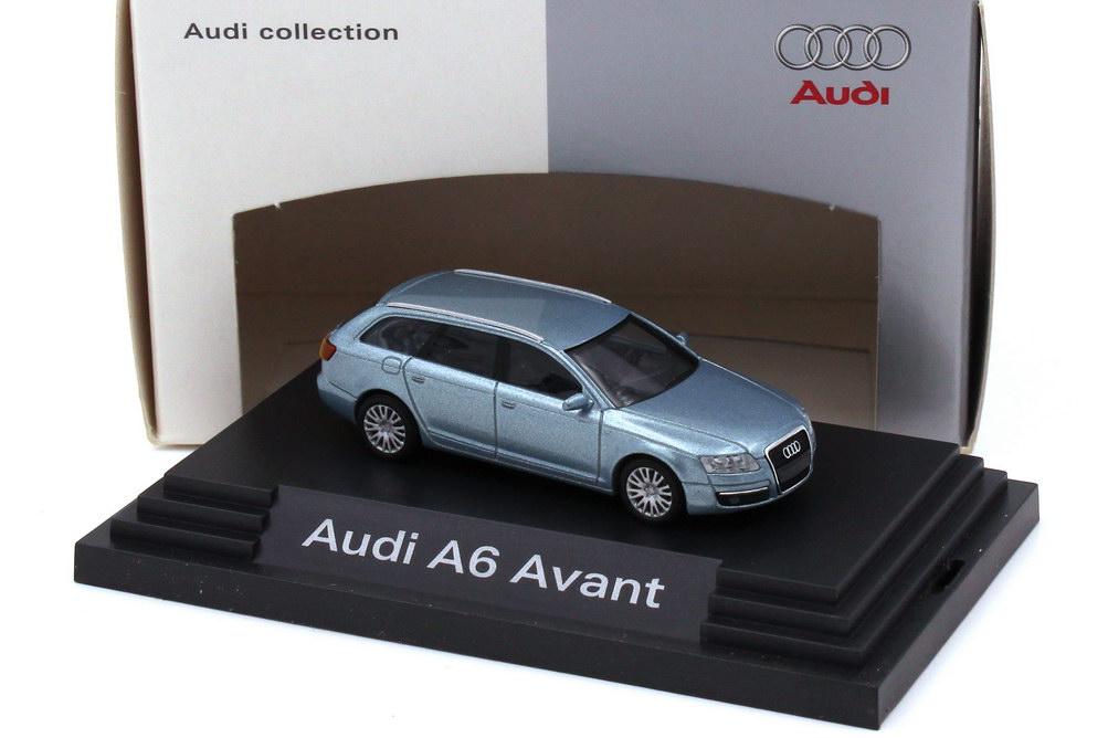 1:87 Audi A6 Avant (C6) aeroblau-met. (Audi)