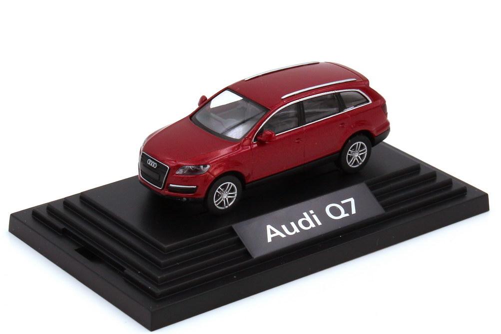 1:87 Audi Q7 4.2 FSI quattro (Typ 4L) granatrot-met. (Audi)