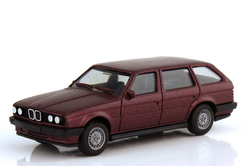 1:87 BMW 3er 325i touring (E30) burgundrot-met.