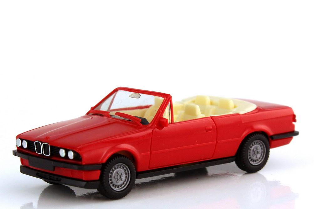 1:87 BMW 3er 325i Cabrio (E30) zinnoberrot