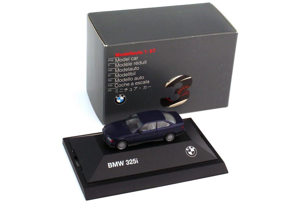 1:87 BMW 3er 325i Coupé (E36) mauritiusblau-met. (BMW)