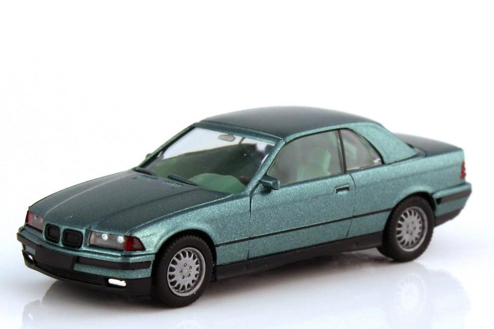 1:87 BMW 3er 325i (E36) Cabrio mit Hardtop barbadosgrün-met.