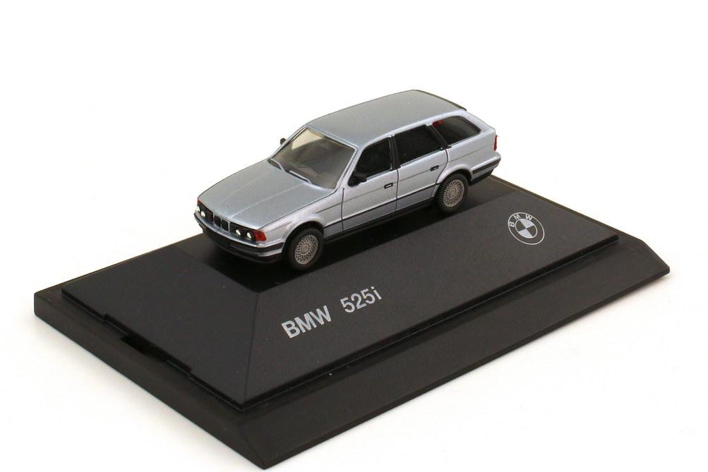 1:87 BMW 5er 525i touring (E34) silber-met. (BMW) (Ls)