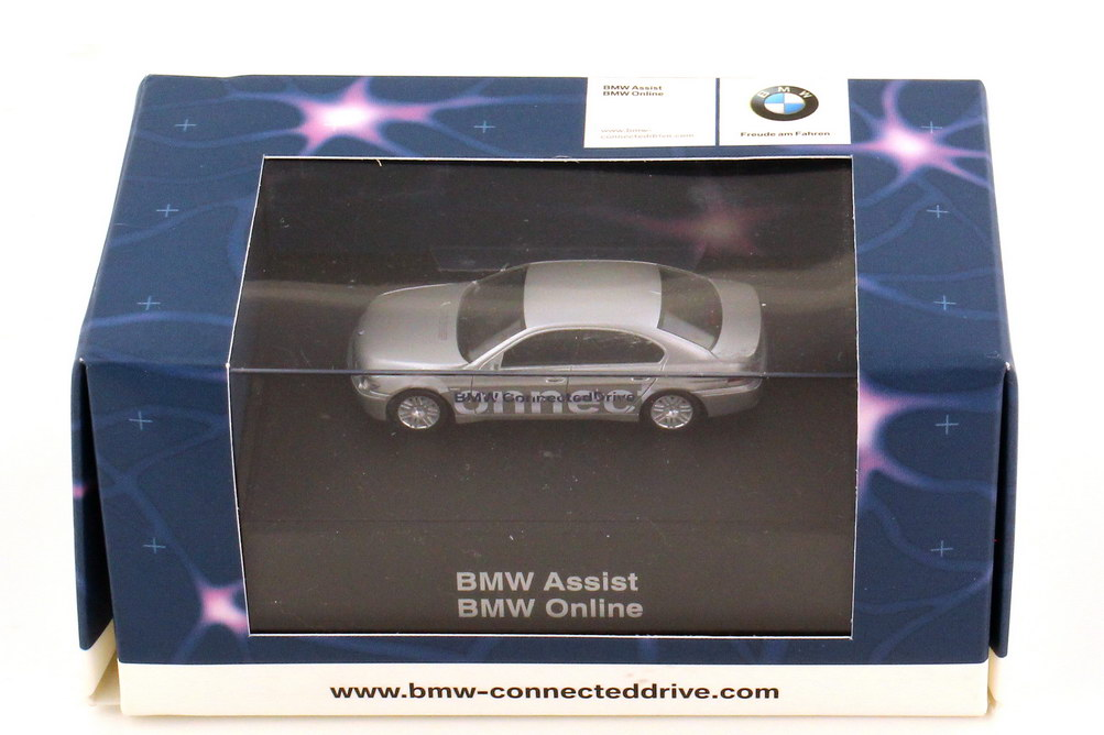 Foto 1:87 BMW 7er E65 745i Connected Drive - Werbemodell - herpa 80410309400