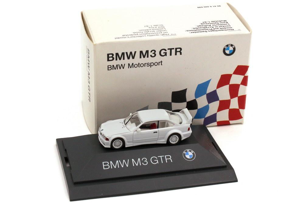 1:87 BMW M3 GTR (E36) Plainbody weiß (BMW)