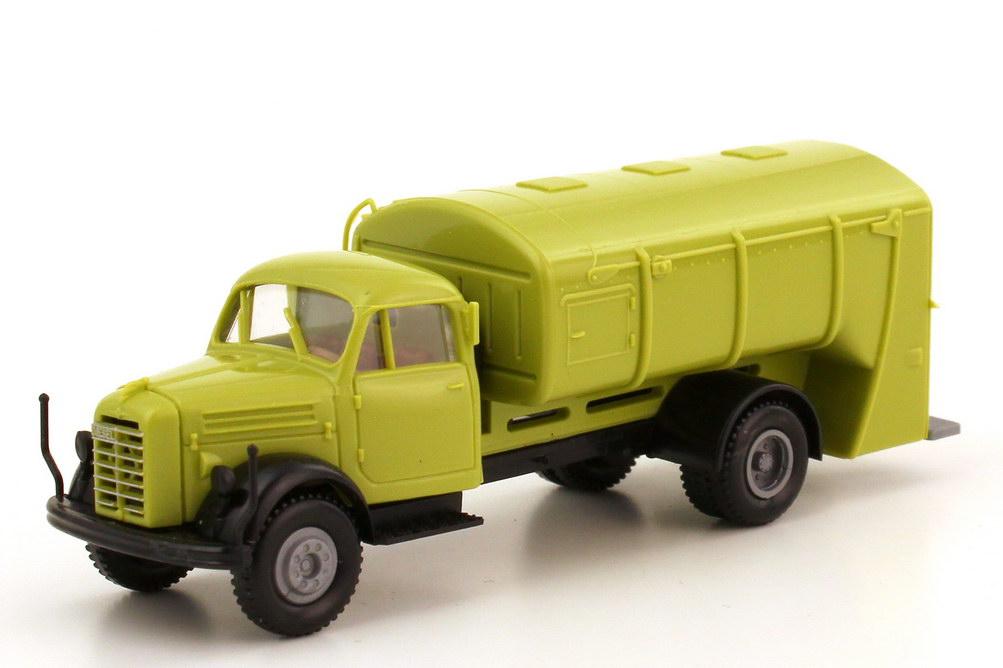 1:87 Borgward B 4500 2a Müllwagen weißgrün